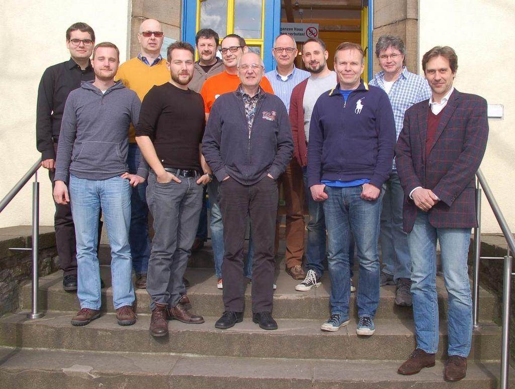 Gruppenbild der AWB-Jury 2015